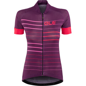 Alé Cycling Solid Ergo SS Jersey Damen purple-gerbera